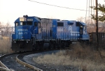 CSX 1554 and NS 5331